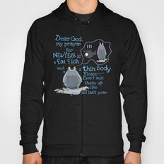 Baby penguins Funny New Year's resolution Hoody