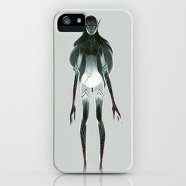Dark Elf iPhone Case