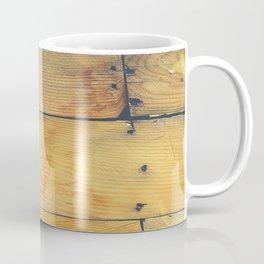 Wood Planks Shipboard Coffee Mug