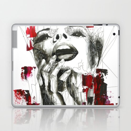 Slashed Laptop & iPad Skin