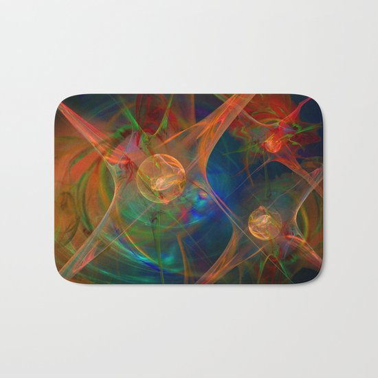 Neuron Network Bath Mat
