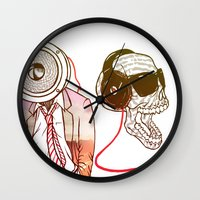 sound Wall Clocks featuring Sound by Kier-James