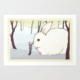 Imaginary Friend Art Print