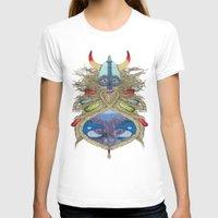viking T-shirts featuring Viking by Sally Renshaw