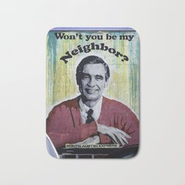 Won't You Be My Neighbor? Bath Mat