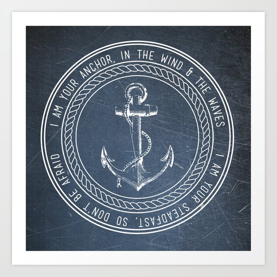Anchor Art Print