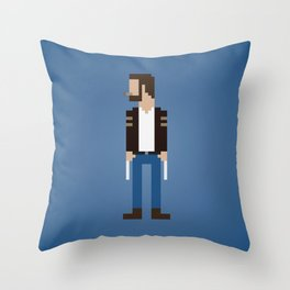 The Man With Metal Claws Throw Pillow