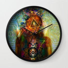 Treyeangle Wall Clock