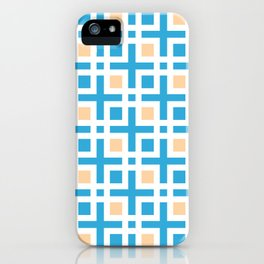 Square Islets - Moroccan Tile Pattern iPhone Case