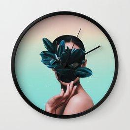 FACE PLANT Wall Clock