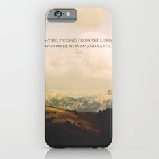 My help comes form the Lord, who made heaven and earth Slim Case iPhone 6s