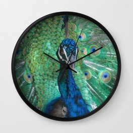 Let Me See Your Peacock Wall Clock