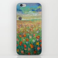 dancing iPhone & iPod Skins featuring Dancing by Michael Creese
