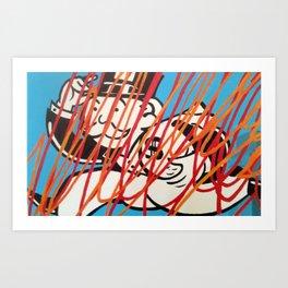 MONOPOLY MAN4 Art Print