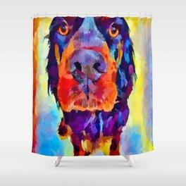 Gordon Setter Shower Curtain