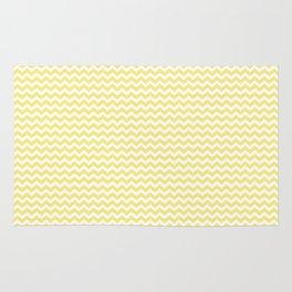 Chevron Yellow Rug