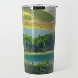 Colorful lake Travel Mug