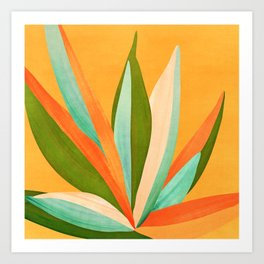 Summer Cactus Art Print