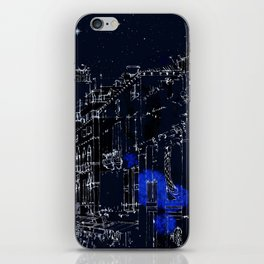 Night vision in time iPhone Skin