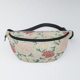 William Morris Cray Floral Pre-Raphaelite Vintage Art Nouveau Pattern Fanny Pack