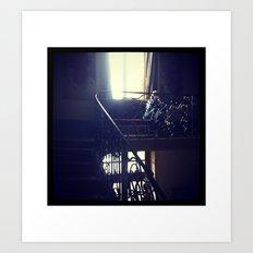 Her Indoors Art Print