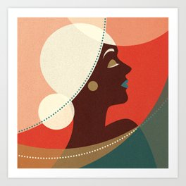 Venn Deco (Part II) Art Print