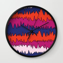Hectic. Wall Clock