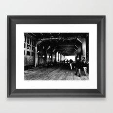 High Line Tunnel Framed Art Print