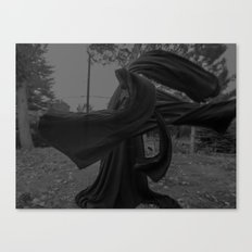 dark cloth Canvas Print
