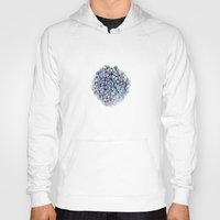 hydrangea Hoodies featuring Hydrangea by Henry Chang