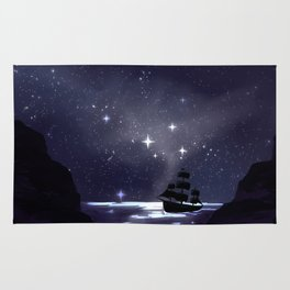 Sailing Stars Rug
