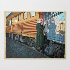 A Departure Canvas Print