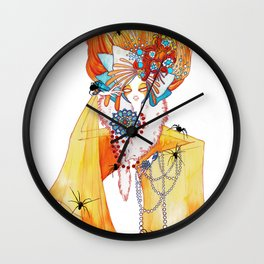 Seven Deadly Sins 'Greed' Wall Clock