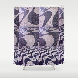 ipanema gradient 134 Shower Curtain