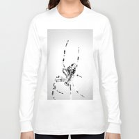 spider Long Sleeve T-shirts featuring Spider by Fine2art