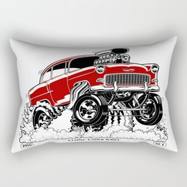 55 Gasser Series REV-2 RED Rectangular Pillow