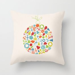New Year sphere2 Throw Pillow