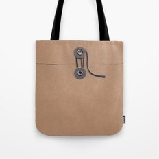 Camo Series - kraft envelope Tote Bag