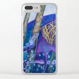 Find me Clear iPhone Case