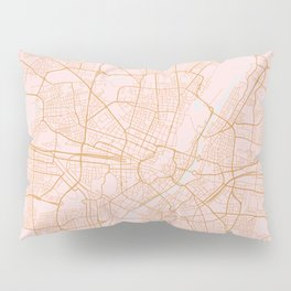 Munich map, Germany Pillow Sham