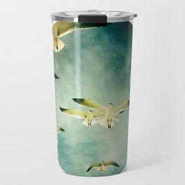 BIRDS IN FLIGHT  Travel Mug