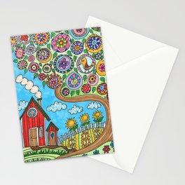 Det lilla röda huset Stationery Cards