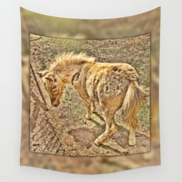 Young miniature horse Wall Tapestry