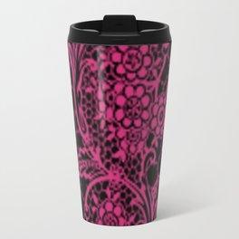 Pink Yarrow Lace Travel Mug
