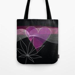 I Heart Cannabis Tote Bag
