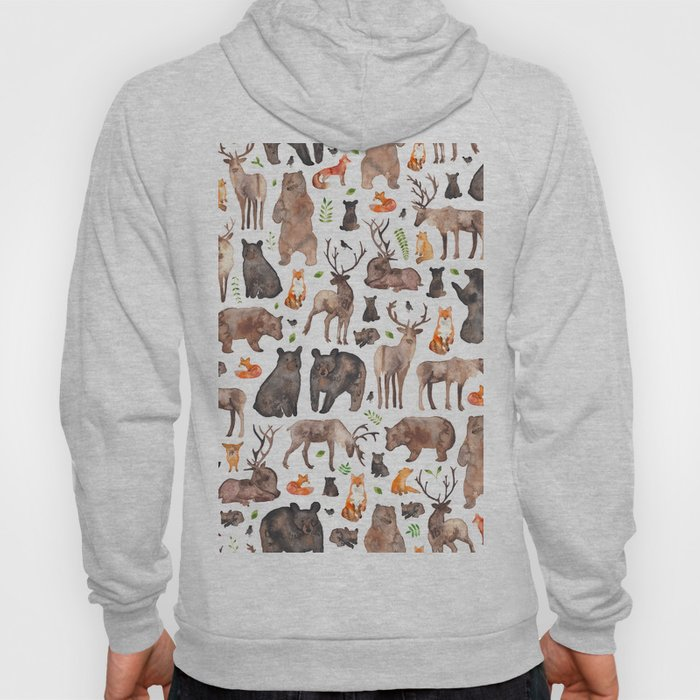 Woodland Animals Hoody