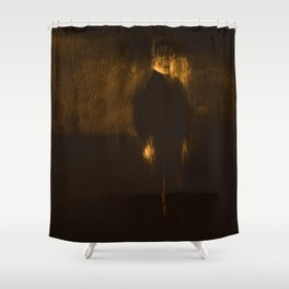 Slender Man Shower Curtain