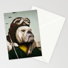 "Wing Commander, Benton ""Bulldog"" Bailey of the RAF Stationery Cards"