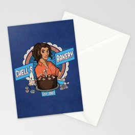 Chell's Bakery Stationery Cards