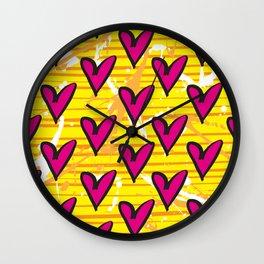 Joy 2 by Kathy Morton Stanion Wall Clock